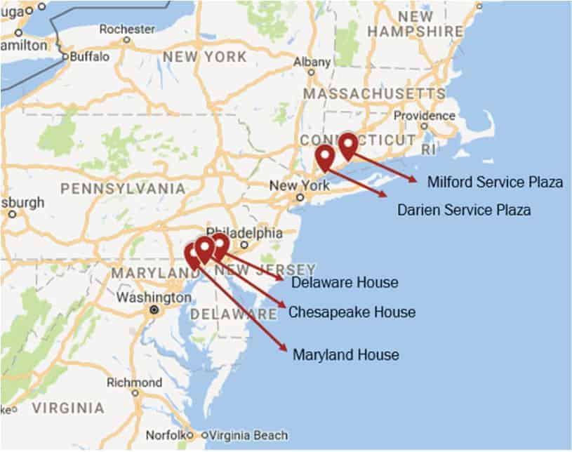 The Best I 95 Rest Stops According To Big Data Streetlight Data