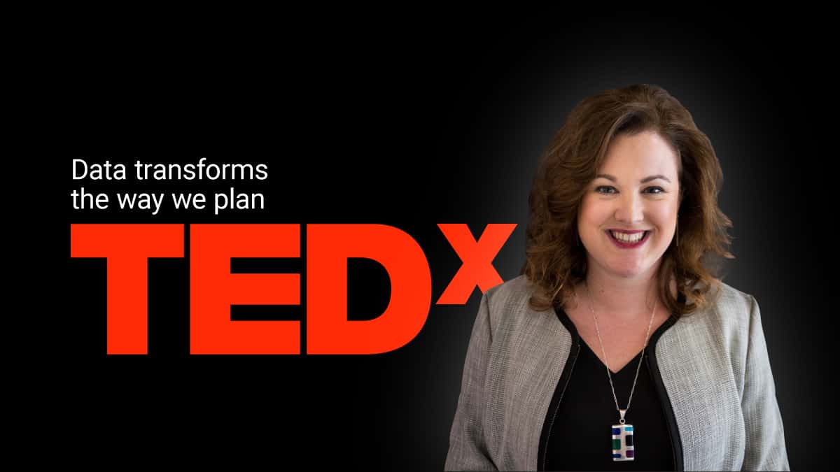 TedX logo with Laura Schewel
